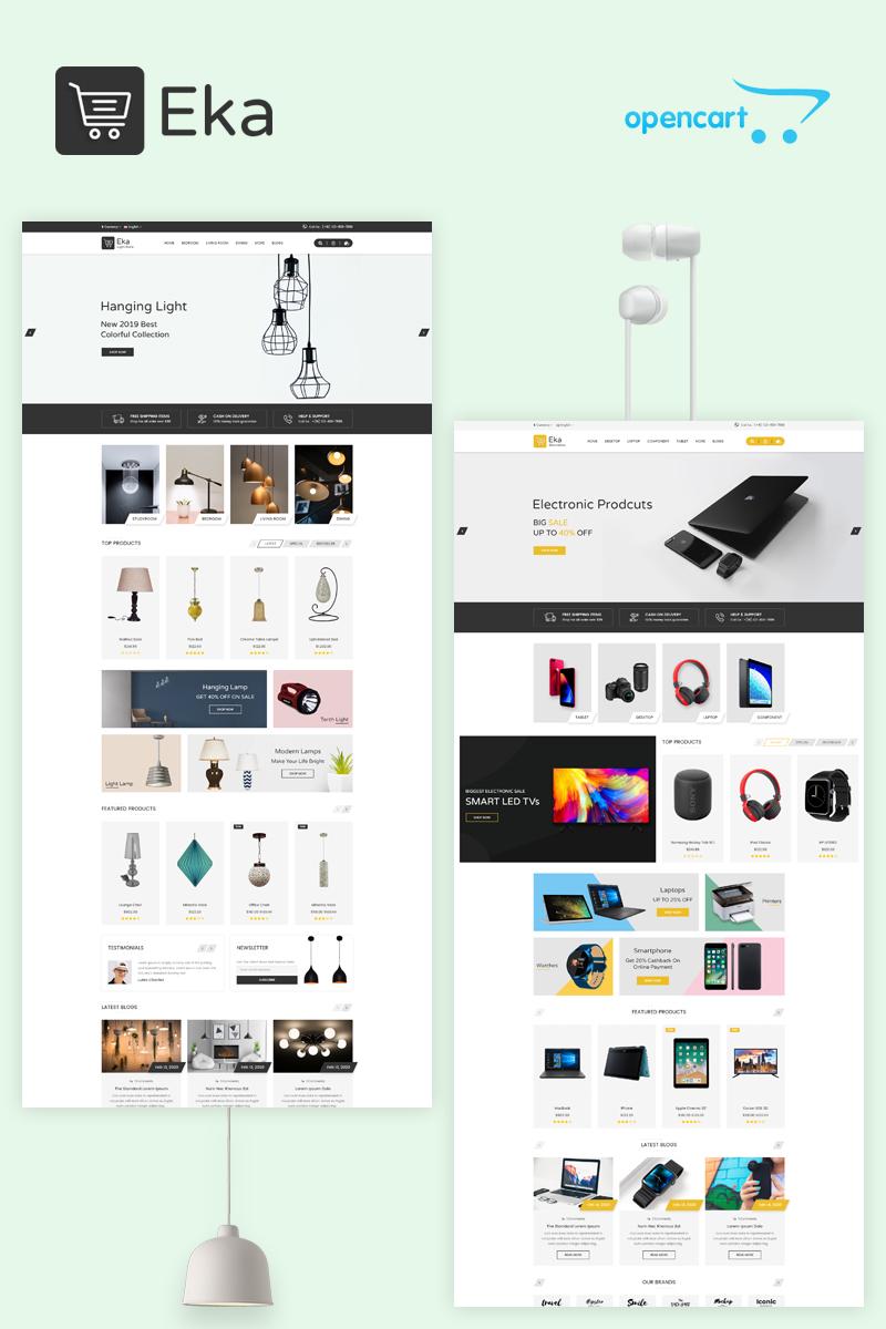 Responsivt Eka - Multipurpose Responsive OpenCart-mall #96820