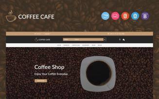 Coffee Responsive OpenCart Template
