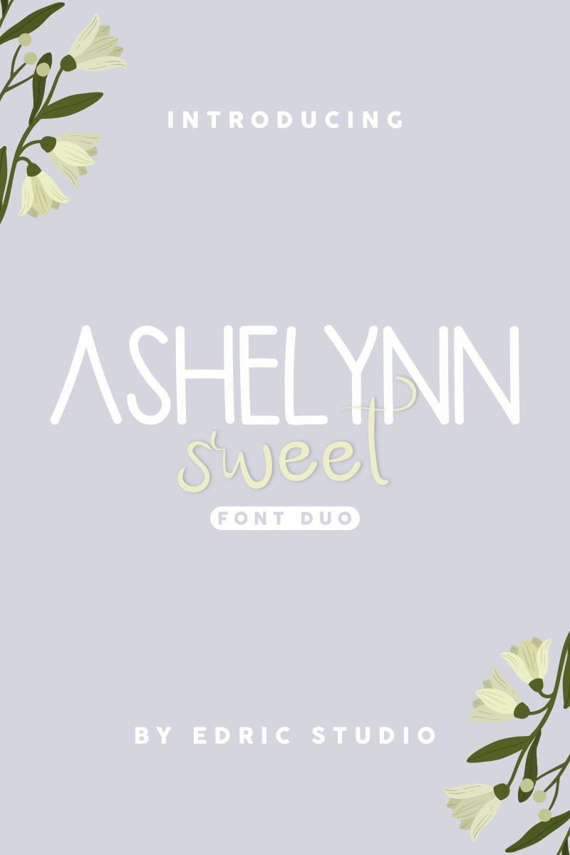 """Schriftart namens """"Ashelynn Sweet"""" #96947"""