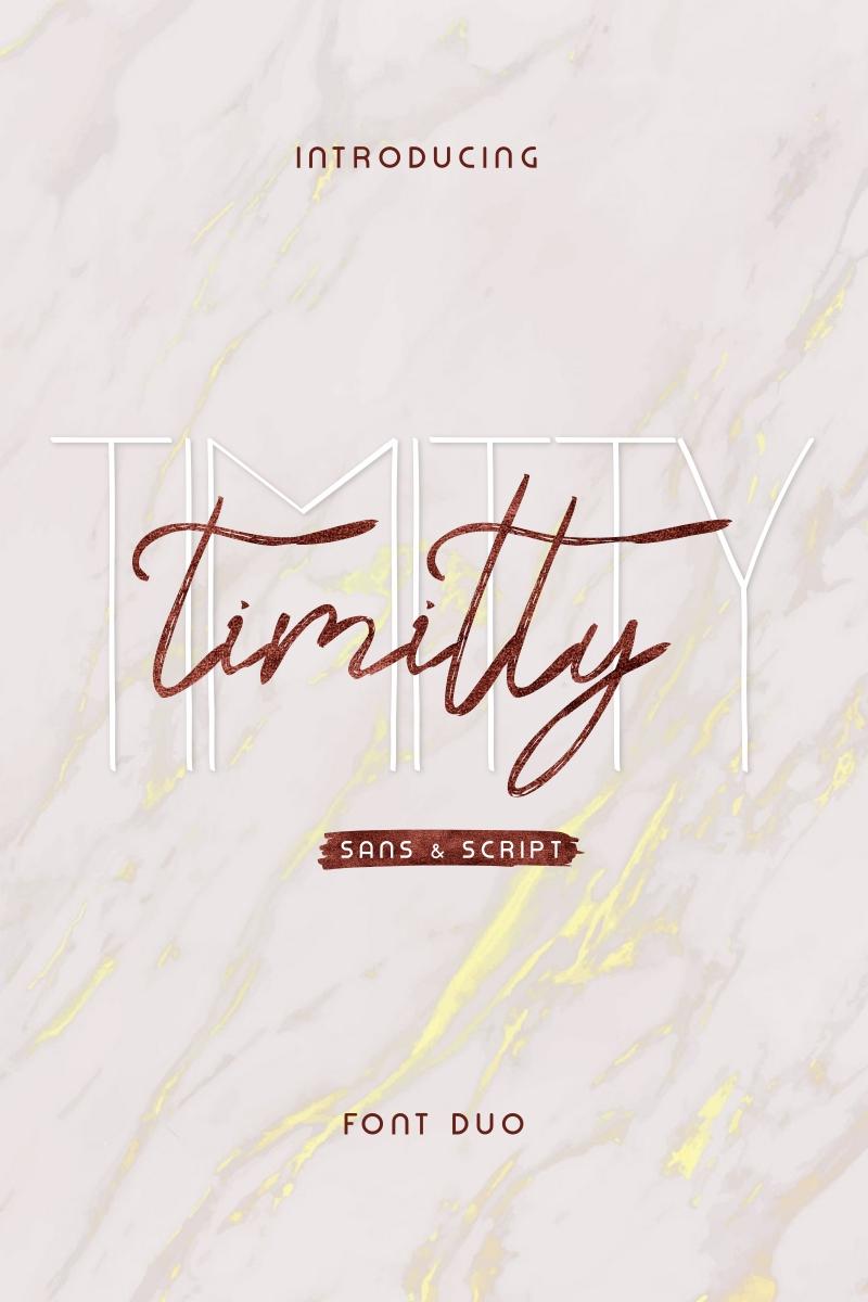 """Schriftart namens """"Timitty"""" #96955"""