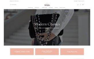 Toteza - Bags Store Template Magento Theme