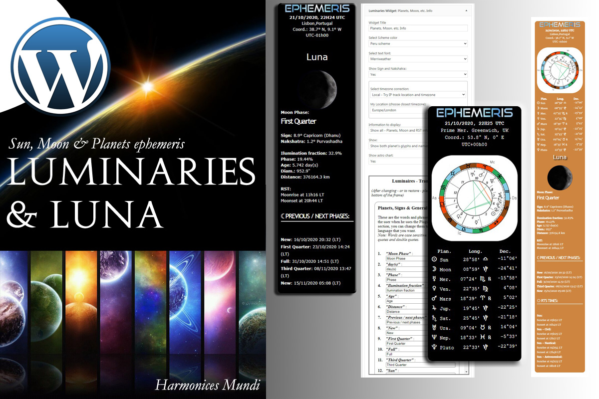 "WordPress Plugin ""Luminaires - Astro Widget"" #96974"