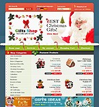 OsCommerce: Online Store/Shop osCommerce Templates Christmas Templates