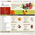 OsCommerce: Online Store/Shop Gifts osCommerce Templates