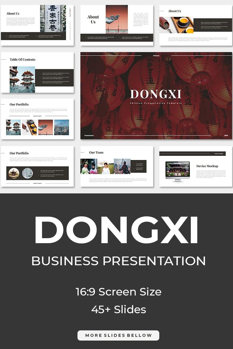 Dongxi Chinese Keynote Template