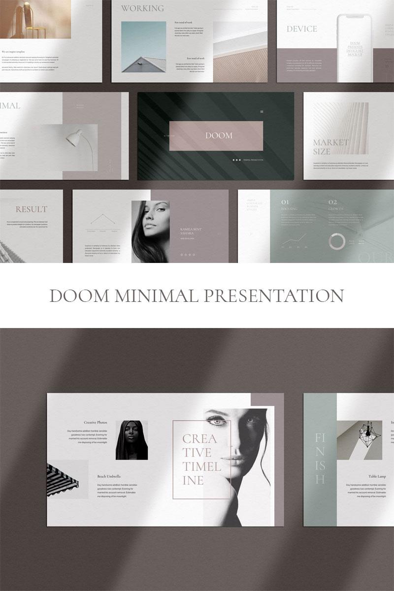 DOOM - Minimal  Presentation Keynote Template