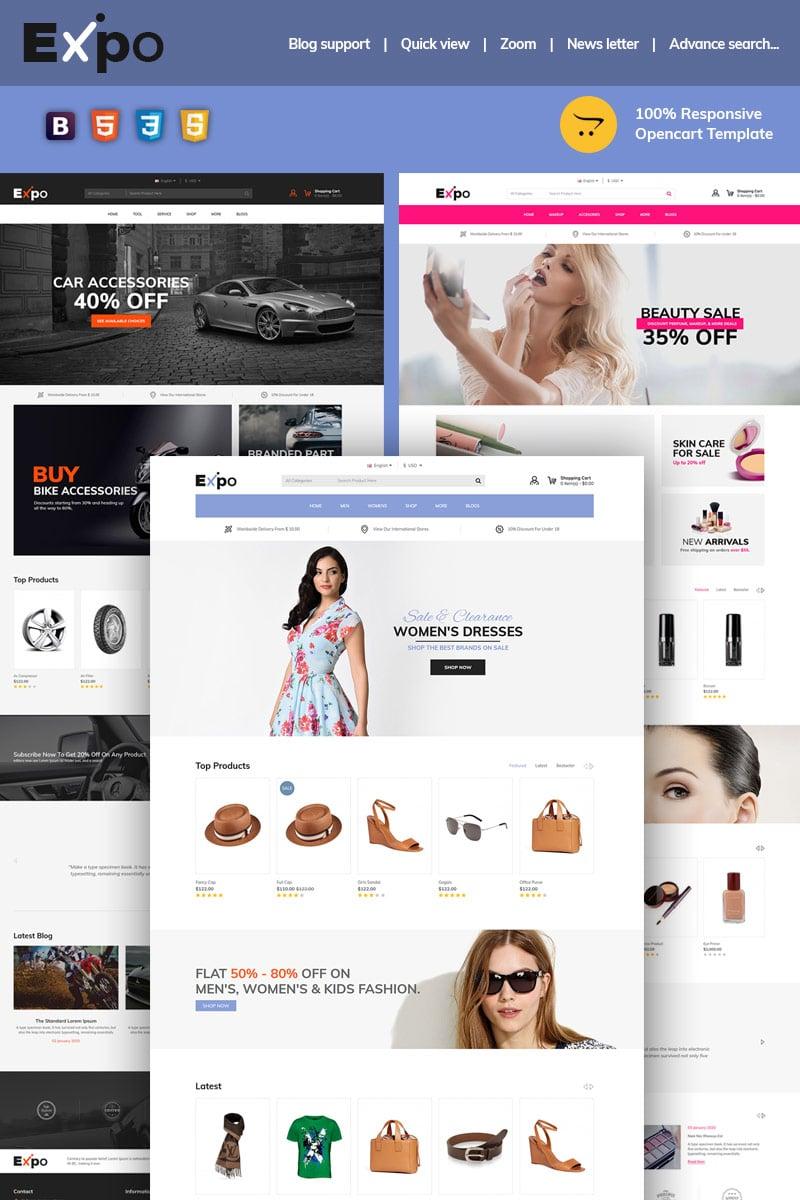 """Expo Multipurpose"" thème OpenCart adaptatif #97015"