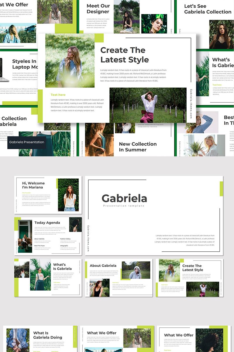 Gabriela Keynote Template