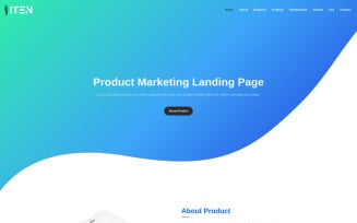 ITEN - Product Presentation Landing Page Template