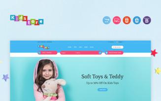 Kids Responsive OpenCart Template