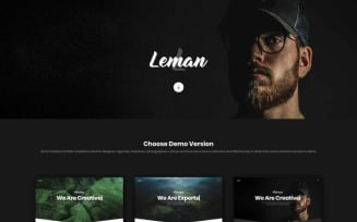Leman - Creative Portfolio Landing Page Template