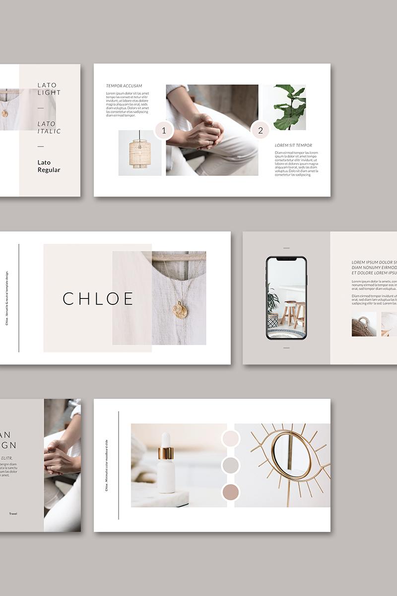 """Šablona pro Keynote """"CHLOE Brand Guidelines"""" #97000"""