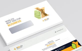 MEGA Envelope Corporate Identity Template