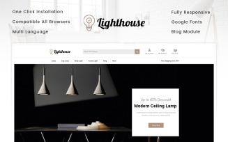 LightHouse - Lighting Store PrestaShop Theme