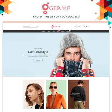 Купить  пофессиональные Shopify шаблоны. Купить шаблон #97212 и создать сайт.