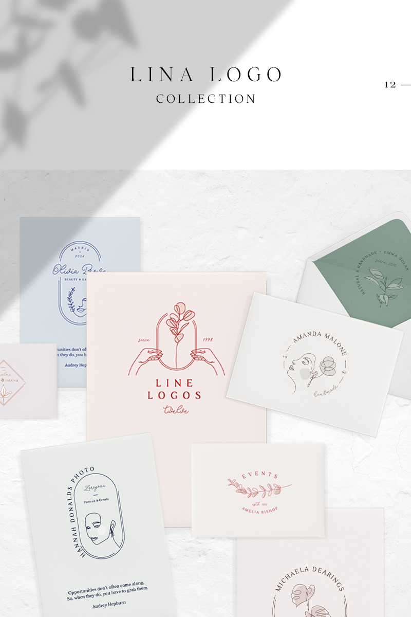Lina Collection Logo Template