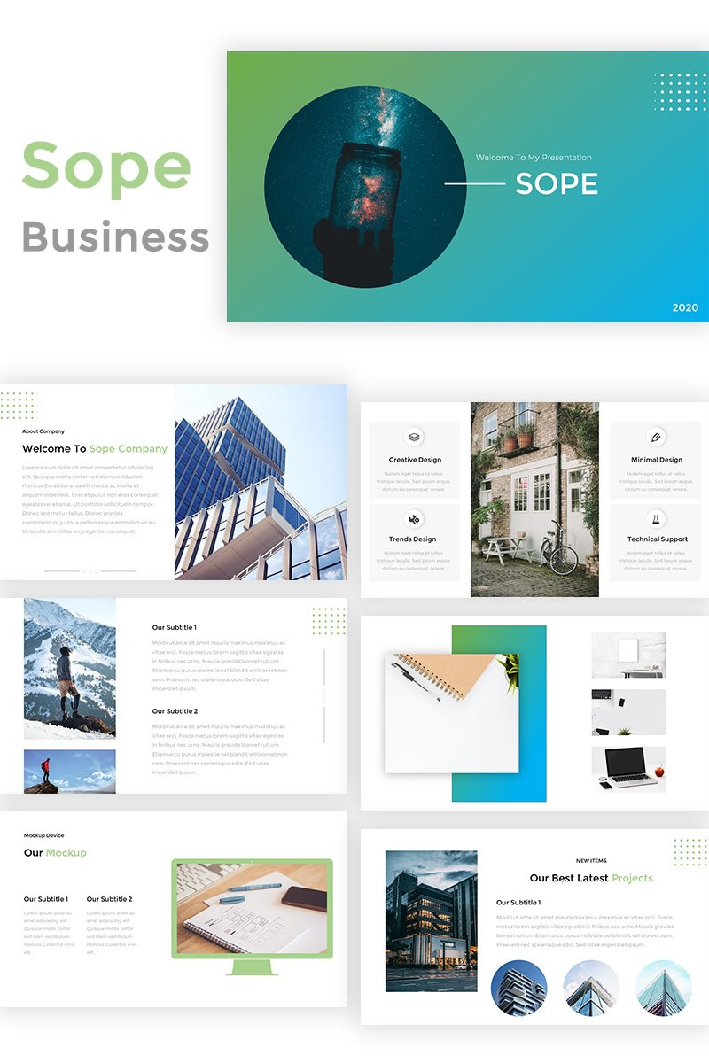 Sope - Creative Business PowerPoint Template