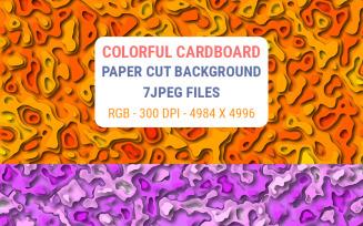 Colorful Cardboard Paper Cut