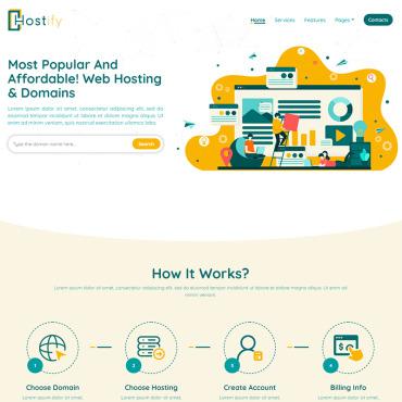 Купить  пофессиональные Bootstrap и html шаблоны. Купить шаблон #97394 и создать сайт.