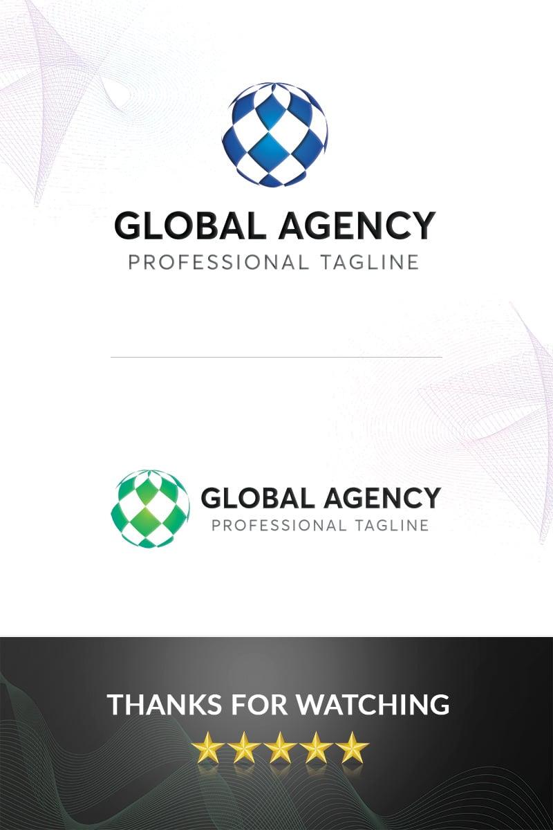 """Global"" Logo template №97381"