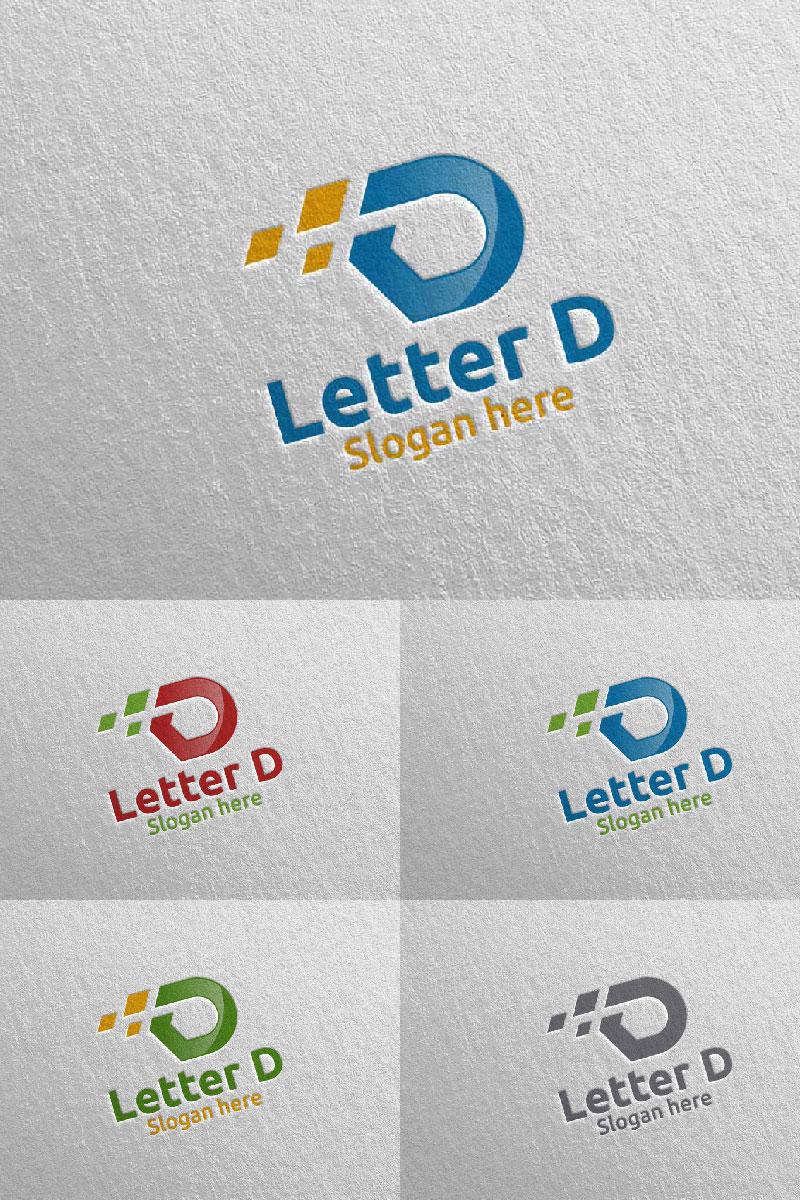 Letter D for Digital Marketing Advisor 59 Logo #97321