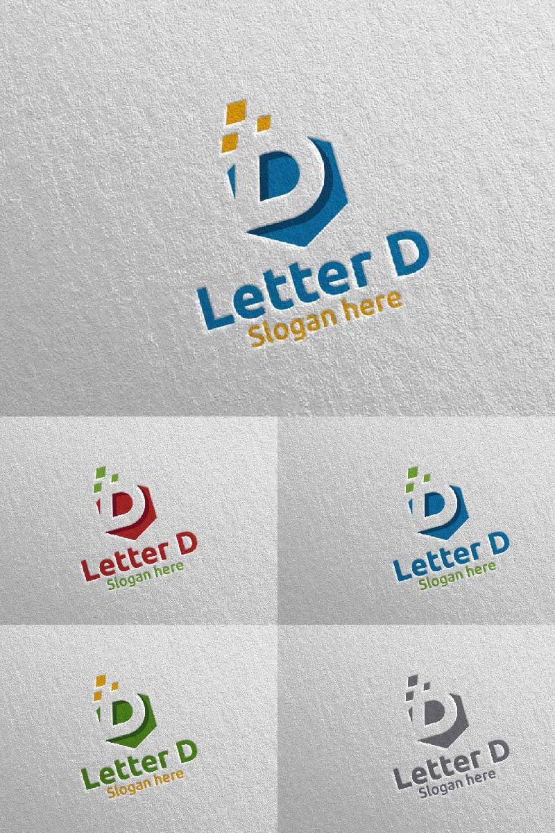 Letter D for Digital Marketing Financial Advisor 62 Logo #97315