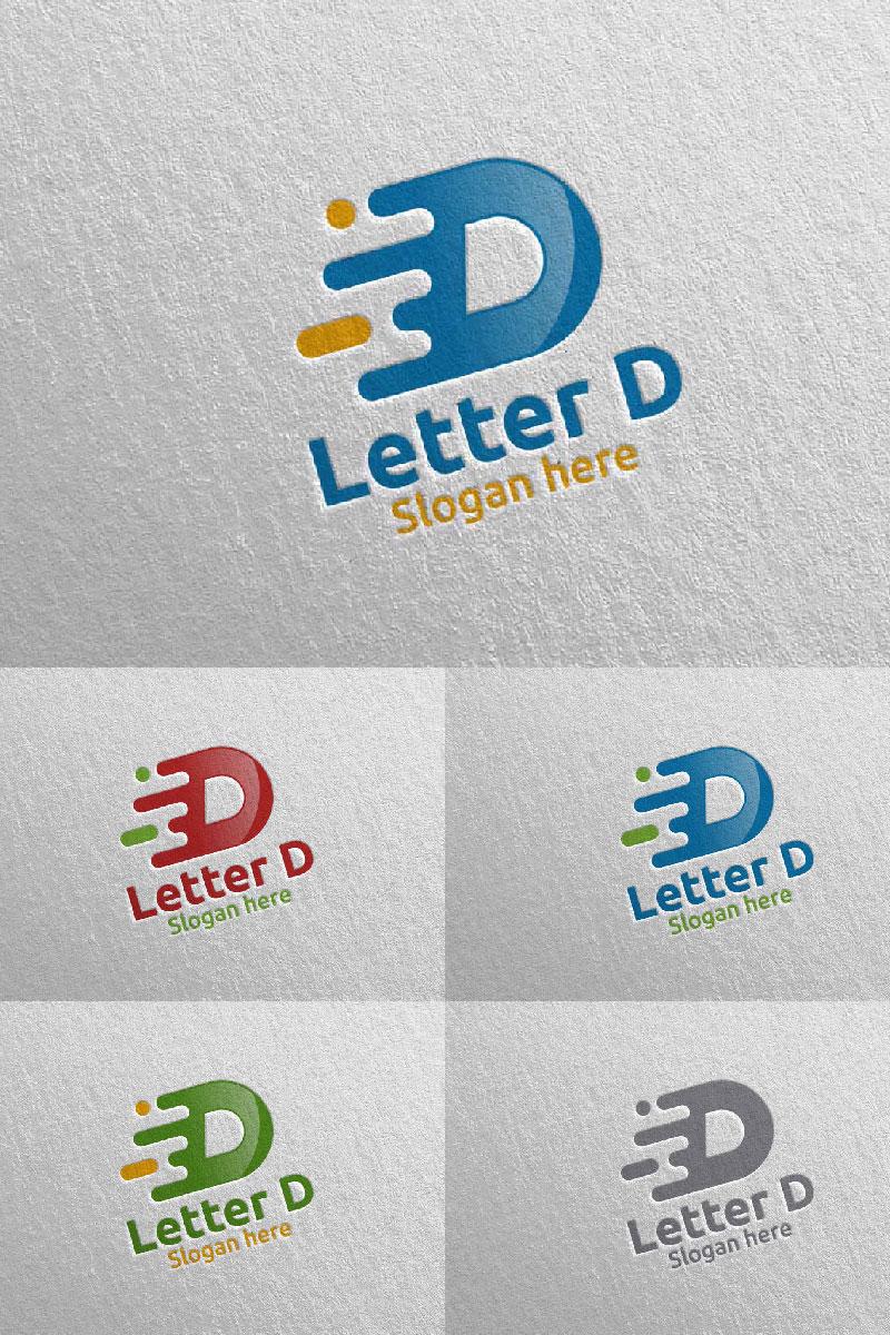 Letter D for Digital Marketing Financial Advisor 63 Logo #97317