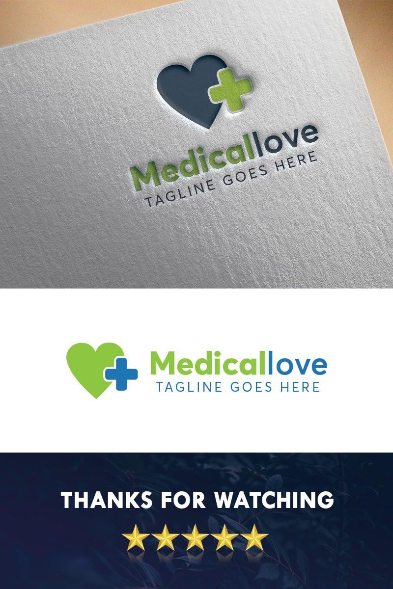 """""""Medicallove"""" Premium Logo template №97382"""