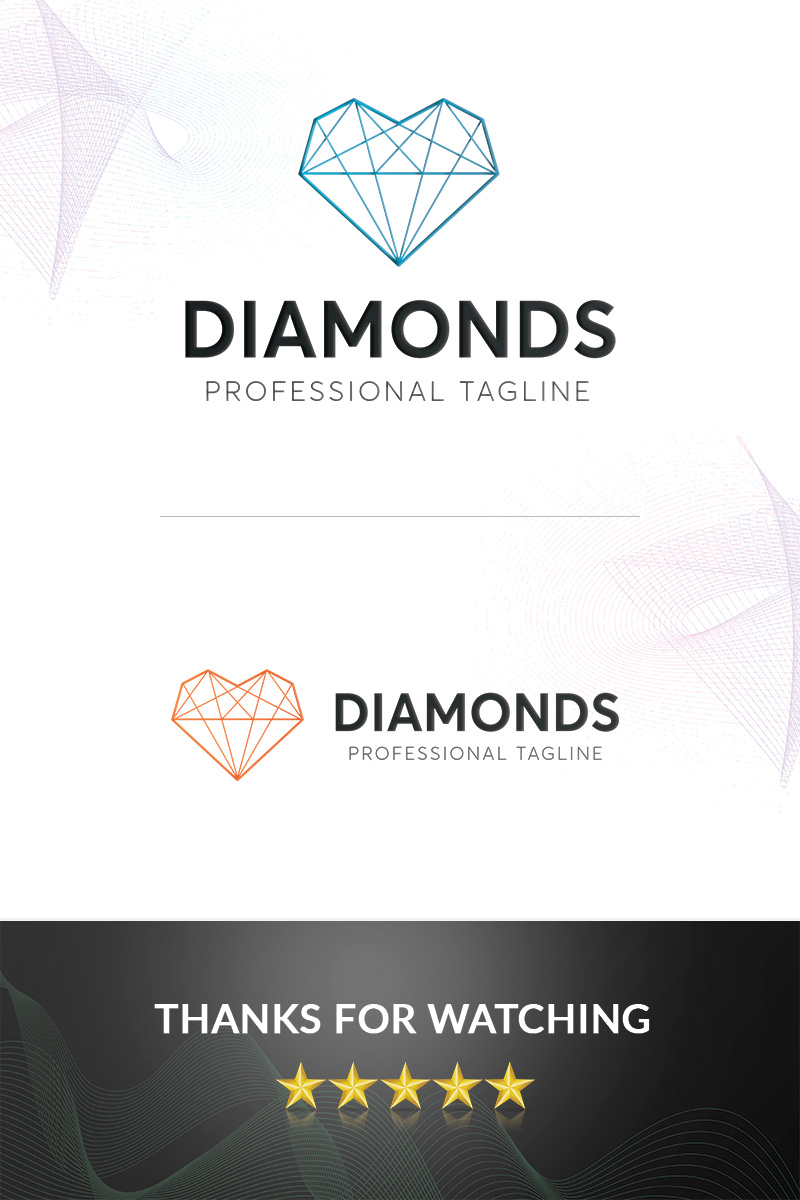 Prémium Diamonds Logó sablon 97373