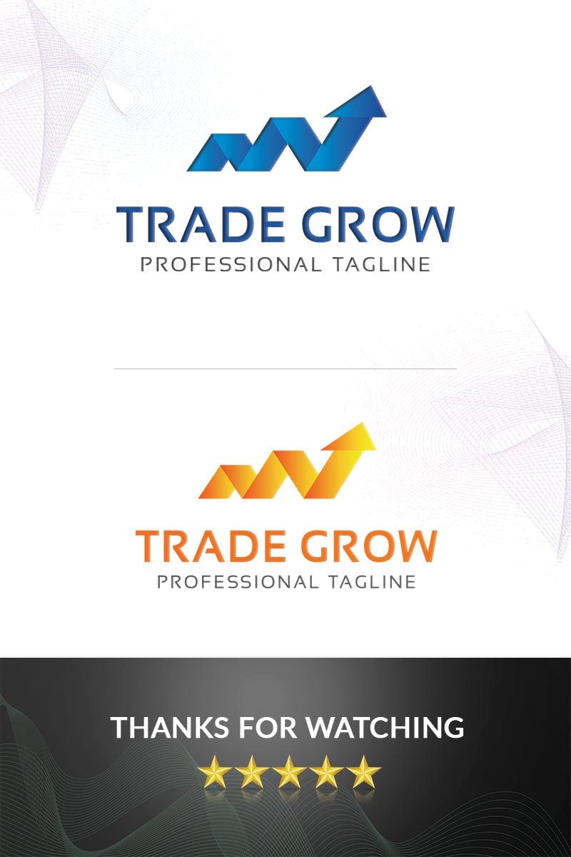 Premium Trade Grow Logo #97312