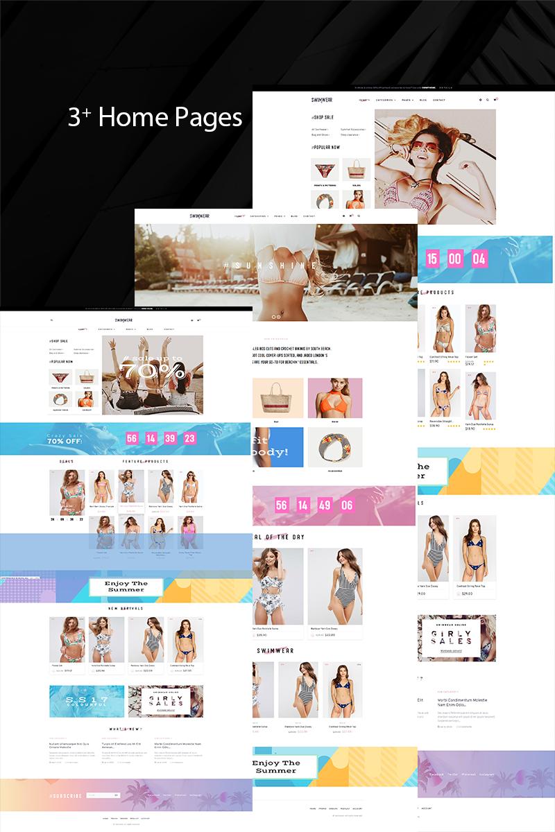 """PrestaShop motiv """"TMSwimwear Bikini & Swimwear Fashion"""" #97392"""