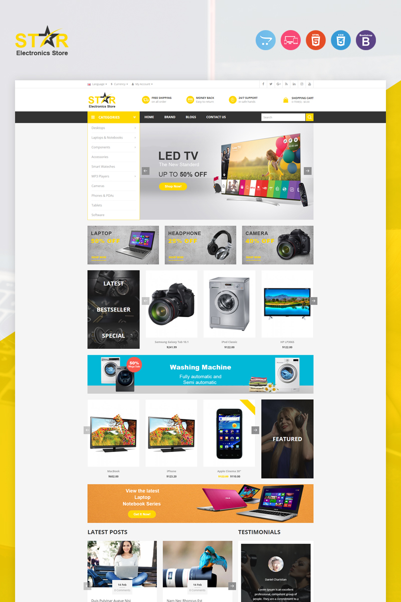 Star OpenCart Template