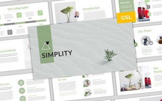 Simplity - Simple & Modern Business Google Slides Template
