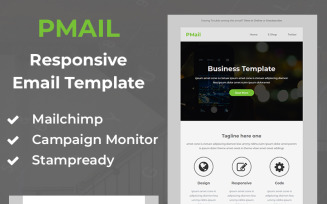 Pmail - Responsive Email Newsletter Template