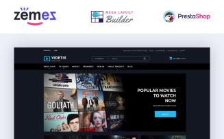 Videtix - Movies Online Store Template PrestaShop Theme
