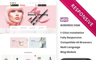 Beautes - The Mega Cosmetic Store WooCommerce Theme
