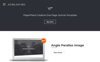 Paperplane - Creative OnePage
