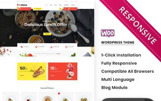 Foodava - The Cafe & Restaurant Premium WooCommerce Theme