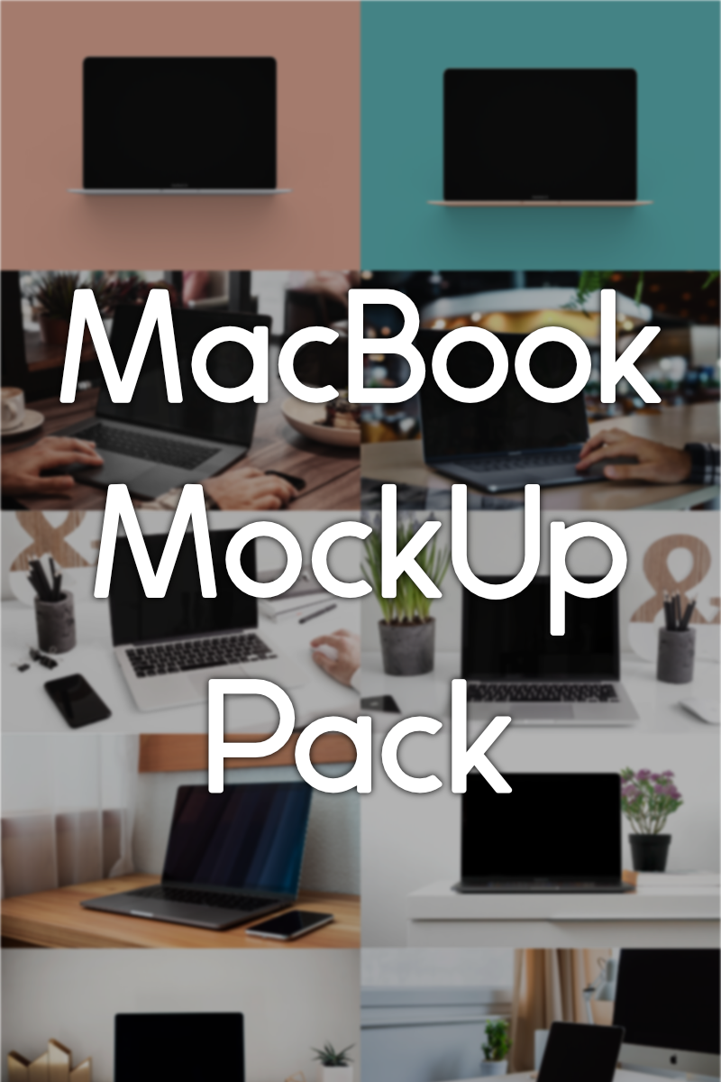 MacBook Product Mockup