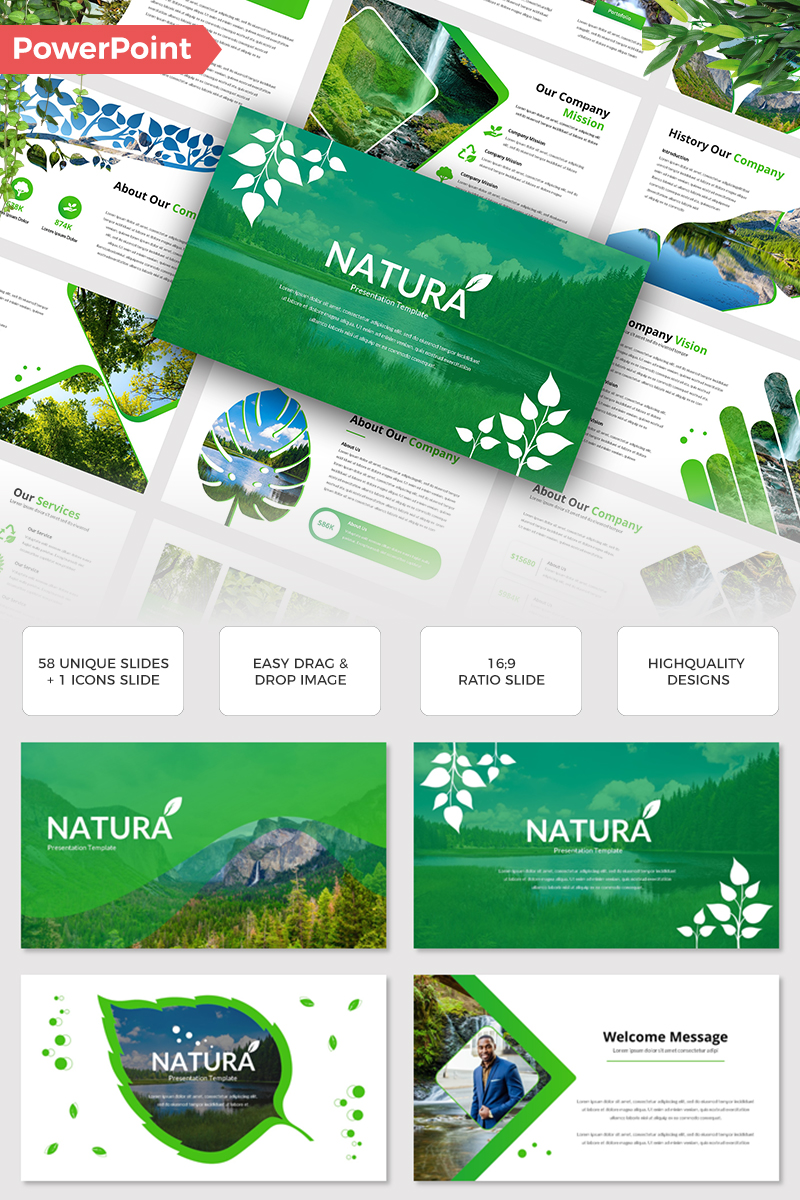 Natura PowerPoint Template