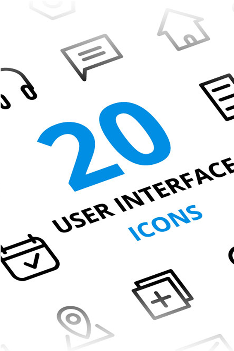 User Interface Iconset Template