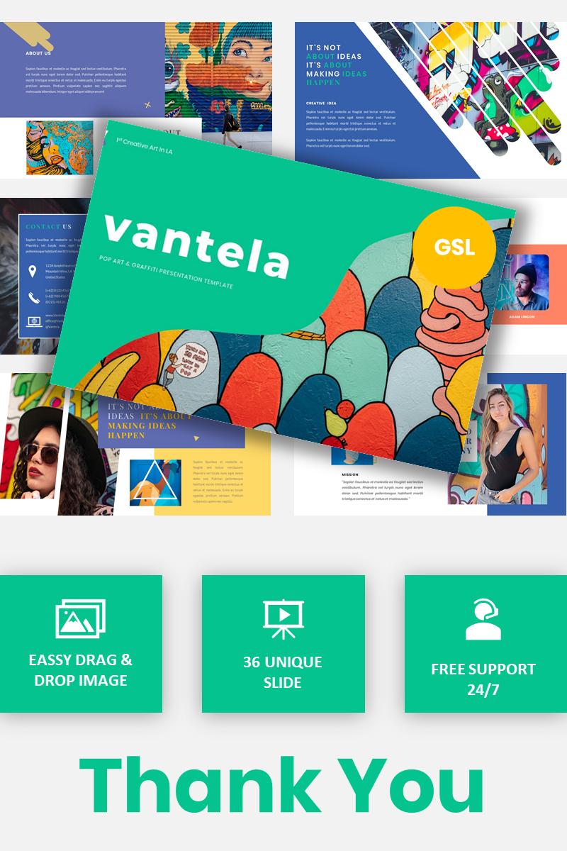 Vantela - Pop Art & Grafitti Google Slides