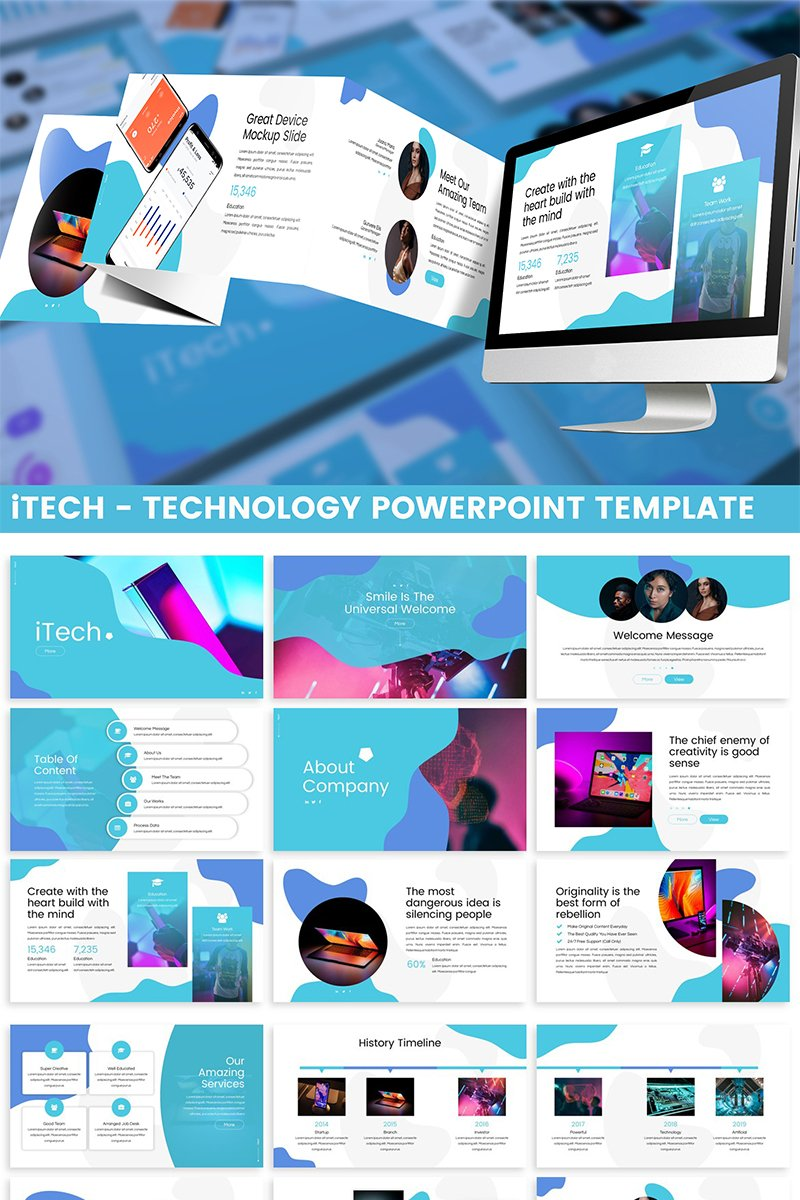 iTech - Technology PowerPoint Template