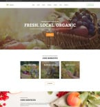 Сельское хозяйство. Шаблон сайта 97754