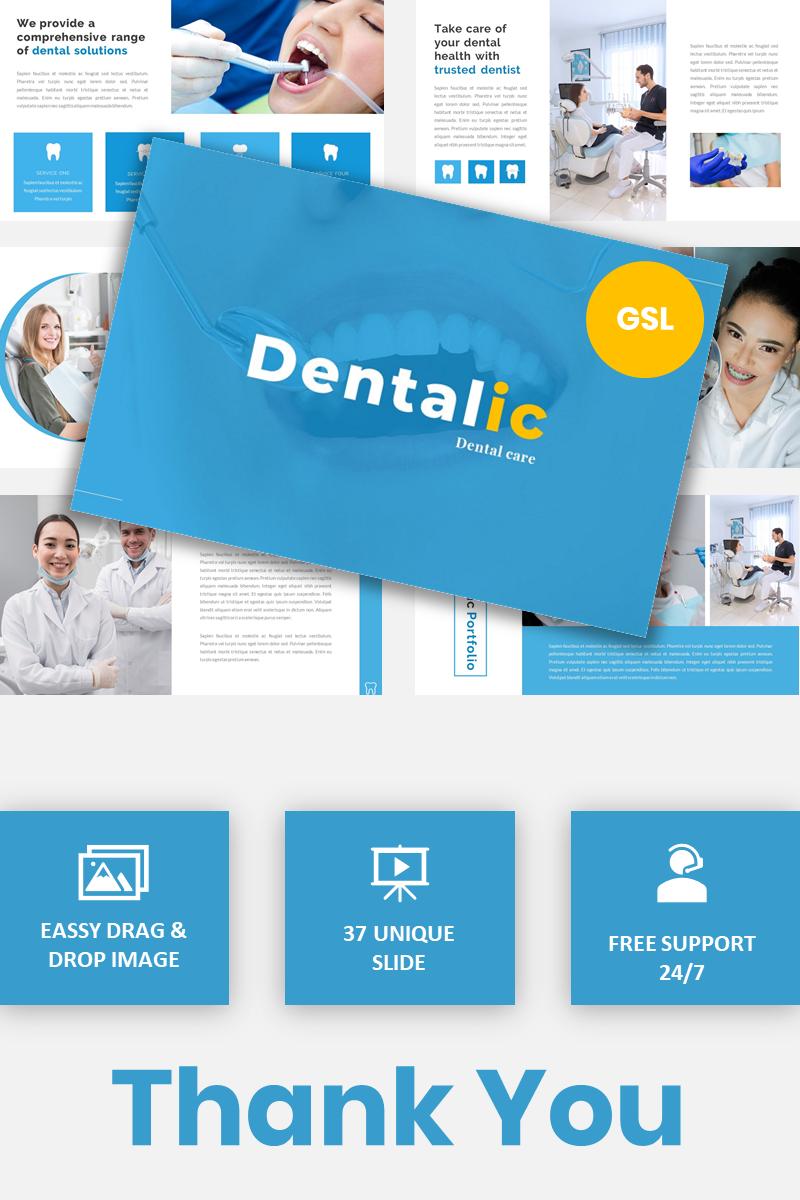 Dentalic - Dental Care Google Slides