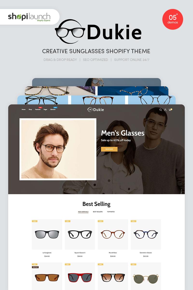 Dukie - Creative Sunglasses Responsive Shopify Theme Shopify Theme