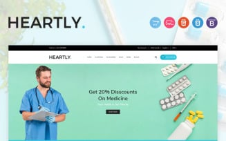 Heartly OpenCart Template