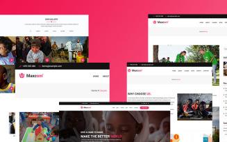 Maxcom -Nonprofit Charity WordPress Theme