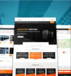 Хостинг шаблоны сайтов. Шаблон сайта 97861