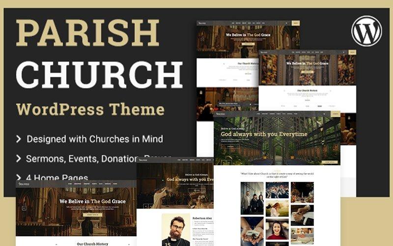 Parish | Church and Temple WordPress Theme